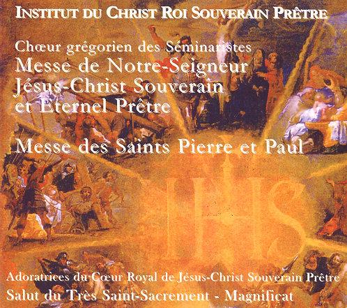 J.C. Souverain Prêtre - St Pierre et Paul