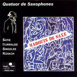 Marquis de Saxe - Quatuor de saxophones