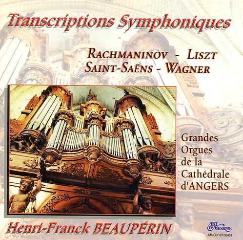 """Henri-Franck Beaupérin - """"Transcriptions"""" - Orgue de la Cathédrale d'Angers"""