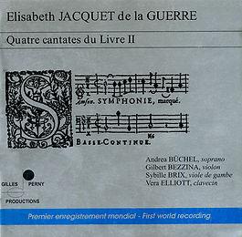 E. Jacquet de la Guerre - 4 Cantates
