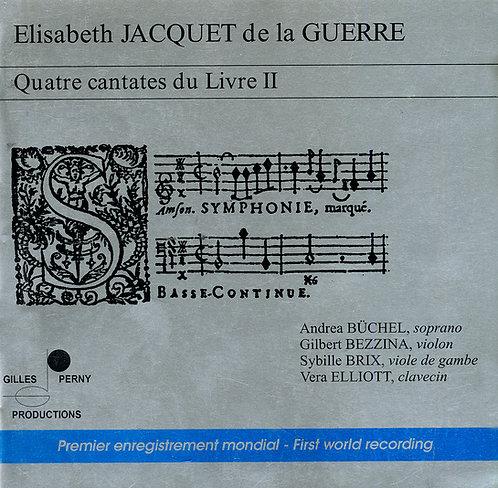 E. Jaquet de la Guerre - 4 Cantates