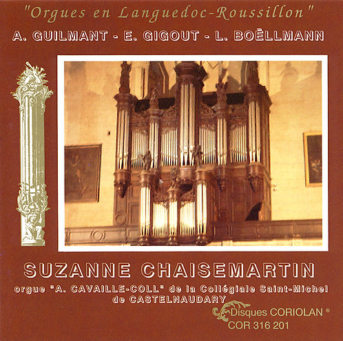 Suzanne Chaisemartin - Orgue de Castelnaudary