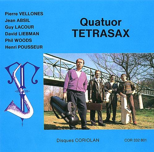 """Quatuor de saxophones """"Tetrasax"""""""