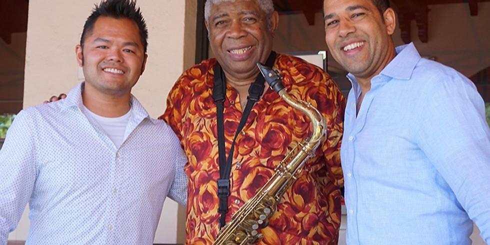 Roger Glenn Jazz Organ Trio at Golden Gate Library