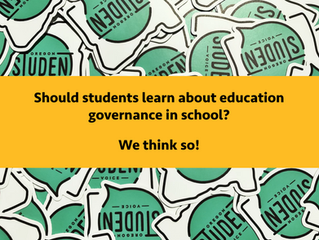 Should we learn about education governance in schools?