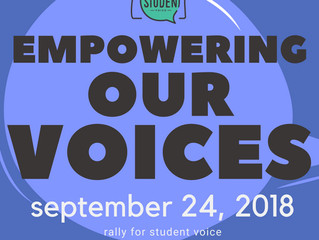 Empowering Our Voices Rally: Uniting students across the state