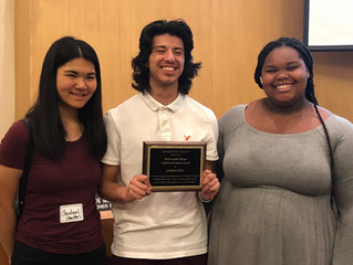 OSV's Jared Cetz receives 2018 Jennifer Beegle Award for Youth Involvement