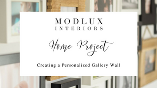 D.I.Y Home Project - Creating A Personalized Gallery Wall