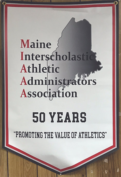 """MIAAA  """"50 Year"""" 3' X 5' Banner"""