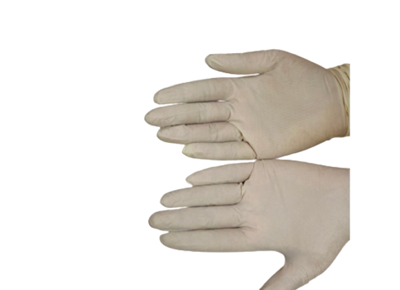 Latex White Gloves