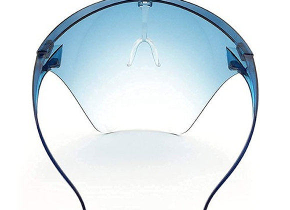 Anti-fog goggle style face shield