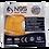 Thumbnail: N95 Mask Orange colour (Respirator)