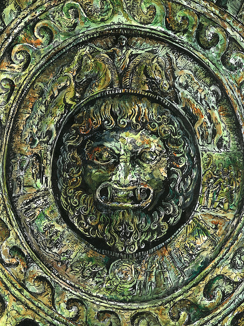 Creature Collection Print: Etruscan Seal