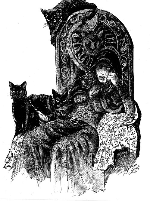 Creature Collection Print: Carmilla Karnstein