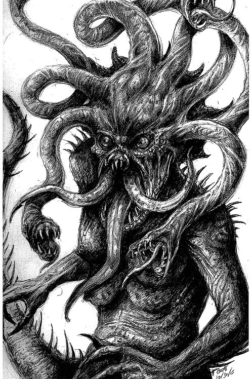 Creature Collection Print: Medusa