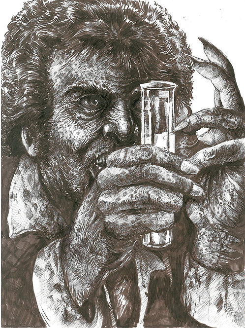 Creature Collection Print: Dr. Jeckyl and Mr. Hyde