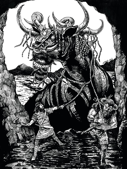Creature Collection Print: Bull of Heaven