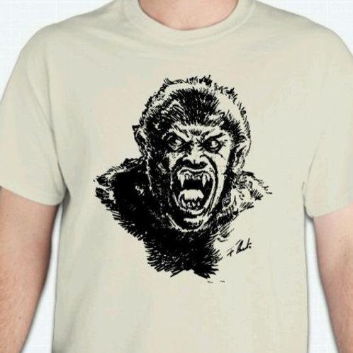 Classic Werewolf Horror T-Shirt