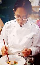 La Cheffe Michelle Chang du Restaurant la cinquième Saveur