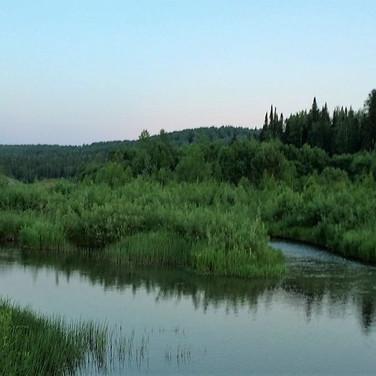 На реке Копь