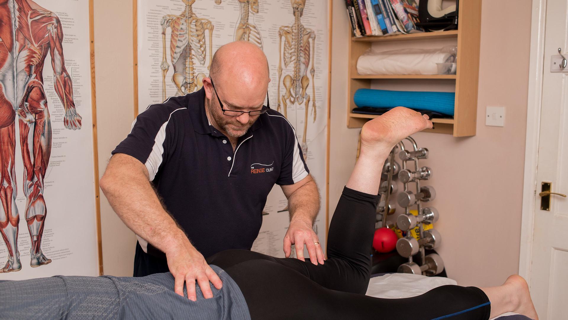 Ian Reinge Physiotherapist