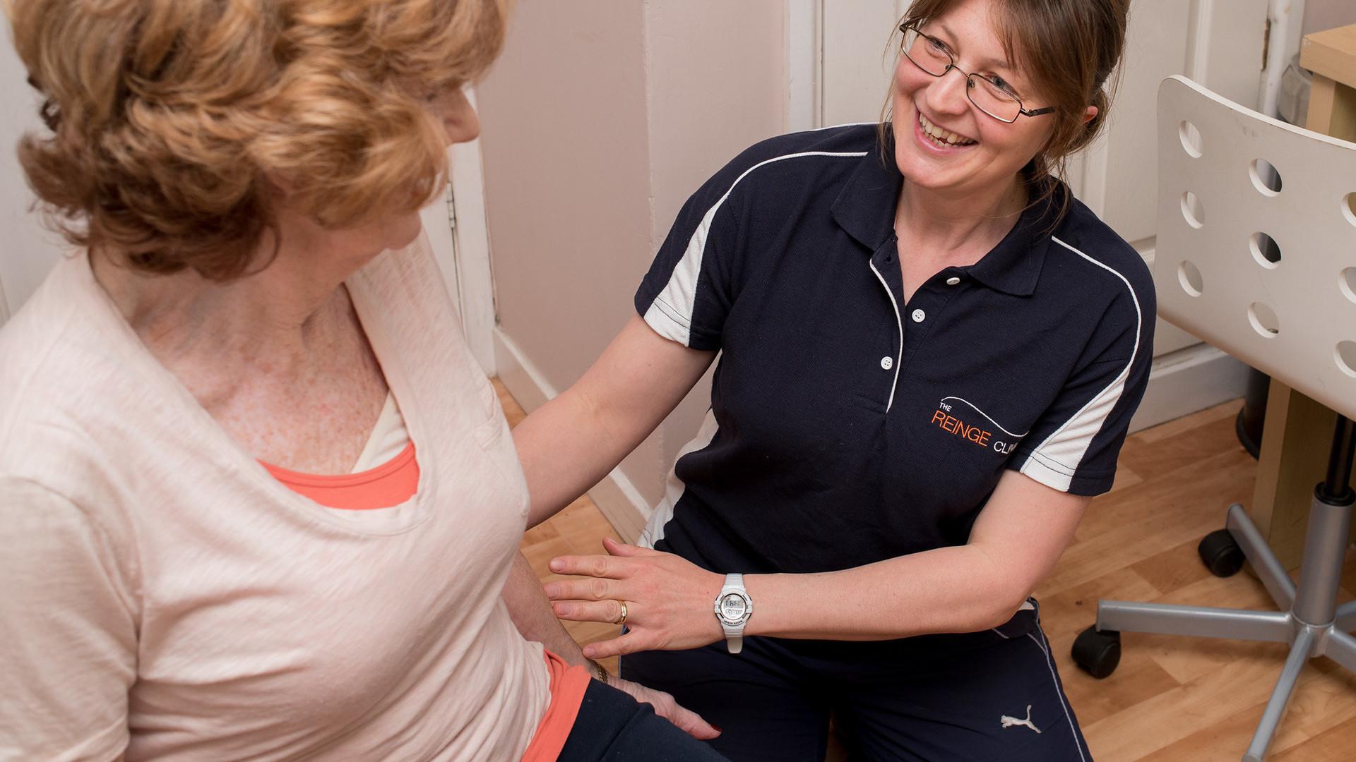 Sports Massage at The Reinge Clinic Kenilworth, Portishead.