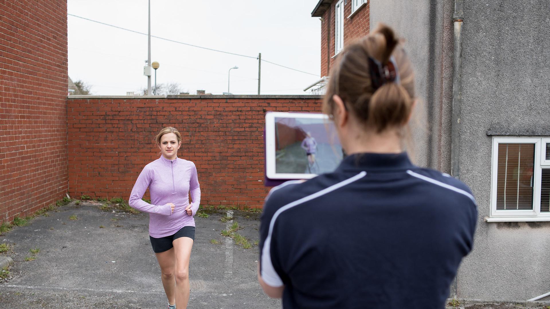 Running Gait Analysis at The Reinge Clinic, Kenilworth / Portishead