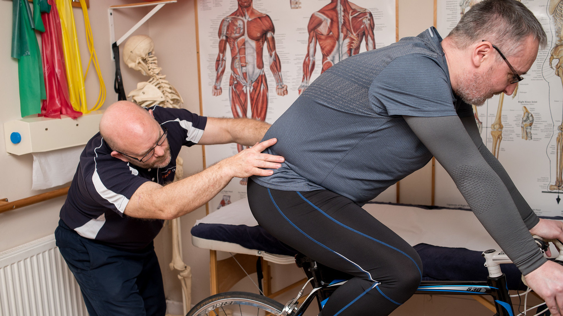 Cycling Analysis at The Reinge Clinic Kenilworth, Portishead.