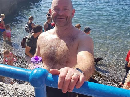 Plymouth Breakwater Swim!