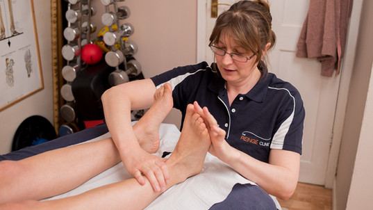 Sports Therapy at The Reinge Clinic Kenilworth, Portishead.