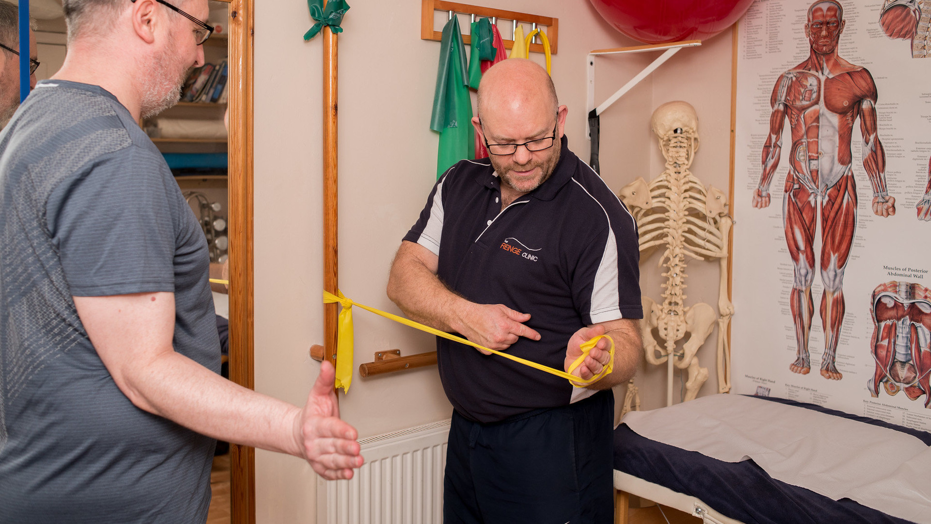 Physiotherapy at The Reinge Clinic Kenilworth, Portishead.