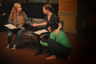by Lindsay Partain, directed by Judy Dodd with Samantha Browne-Walters, Valerie Huntington and Broghanne Jessamine