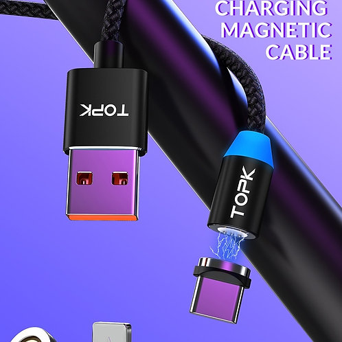 Chargeur Câble Magnétique USB