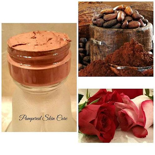 Chocolate Rose Kaolin Clay Mask