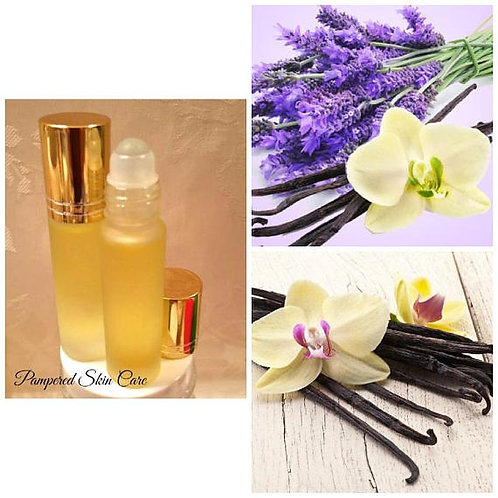 Lavender Vanilla Essential Oil Blend