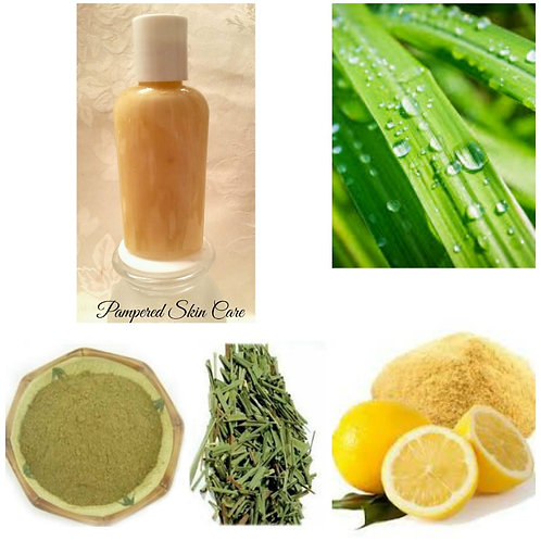 Lemongrass & Lemon Peel Shampoo and Skin Wash