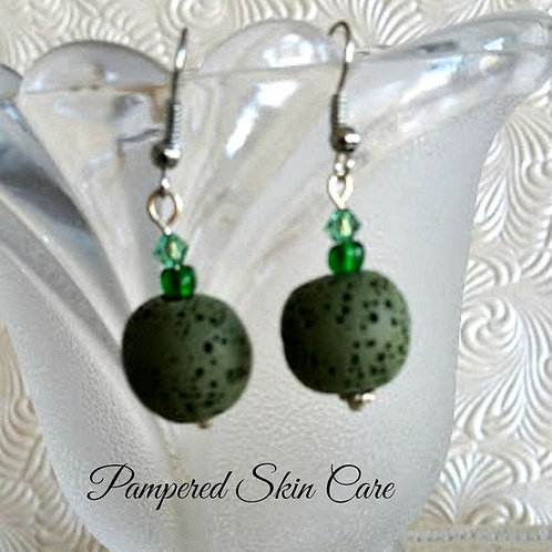 Aromatherapy Lava Diffuser Earrings