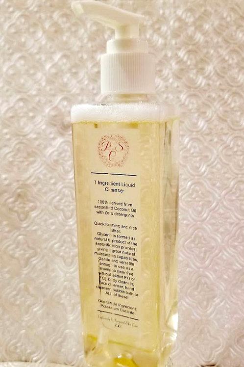 1 Ingredient Liquid Cleanser