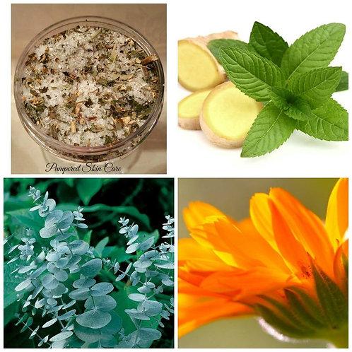 Cold & Flu Herbal Bath Soak/Salts