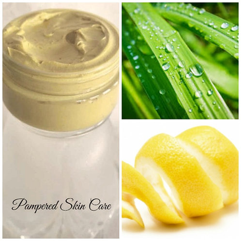 Lemongrass & Lemon Peel Clay Face Mask