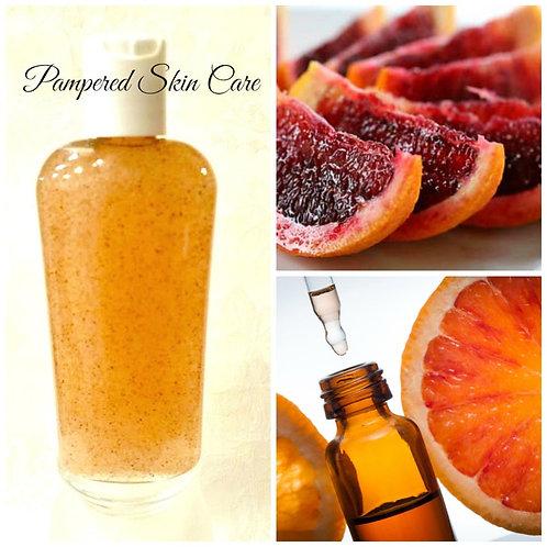 Blood Orange, Bergamot & Orange Peel Powder Skin Wash