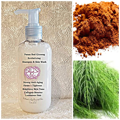 Panax Red Ginseng Revitalizing Shampoo & Skin Wash