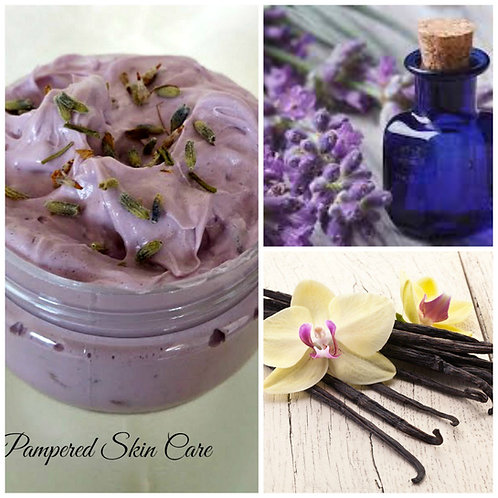 Whipped Lavender Petal Skin Wash ~ with Vanilla