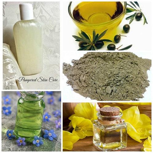 Seborrheic Dermatitis Skin Cleanser & Shampoo Combo