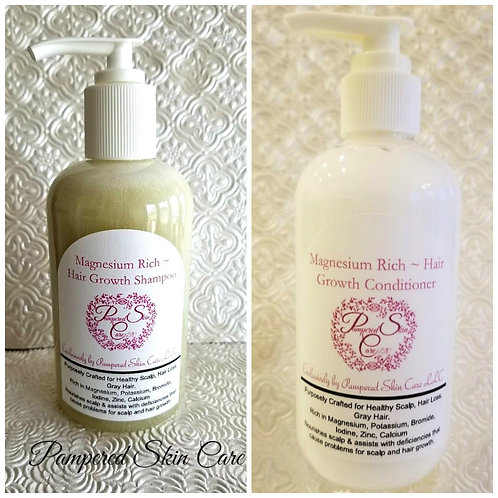 Magnesium Rich ~ Hair Growth Set