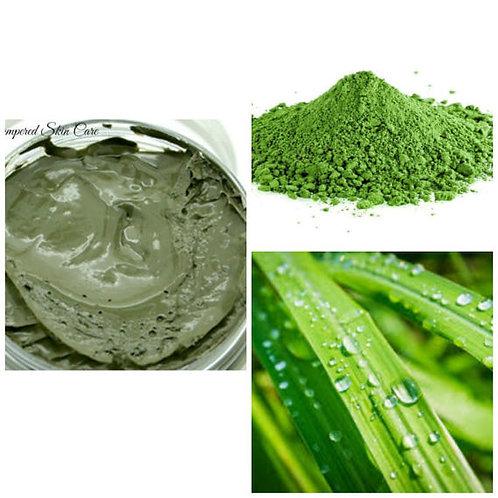 Organic Matcha Green Tea Mask with Lemongrass