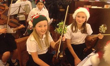 Christmas Concert players