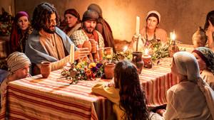 Jesus at wedding with kids.jpg