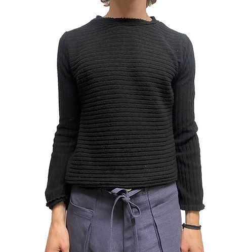 Horizontal Knit Long Sleeve