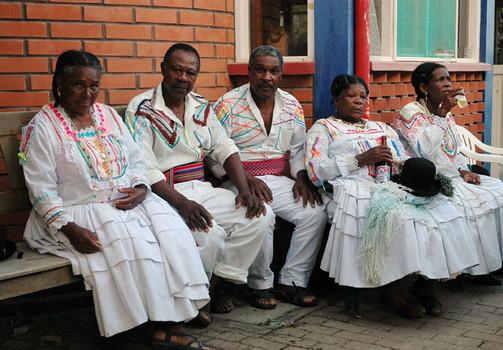 Afrobolivianer in Los Yungas